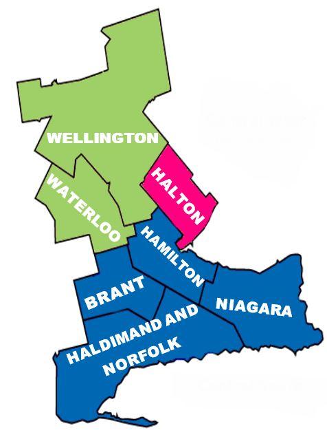 Specialized Geriatric Services Region Map